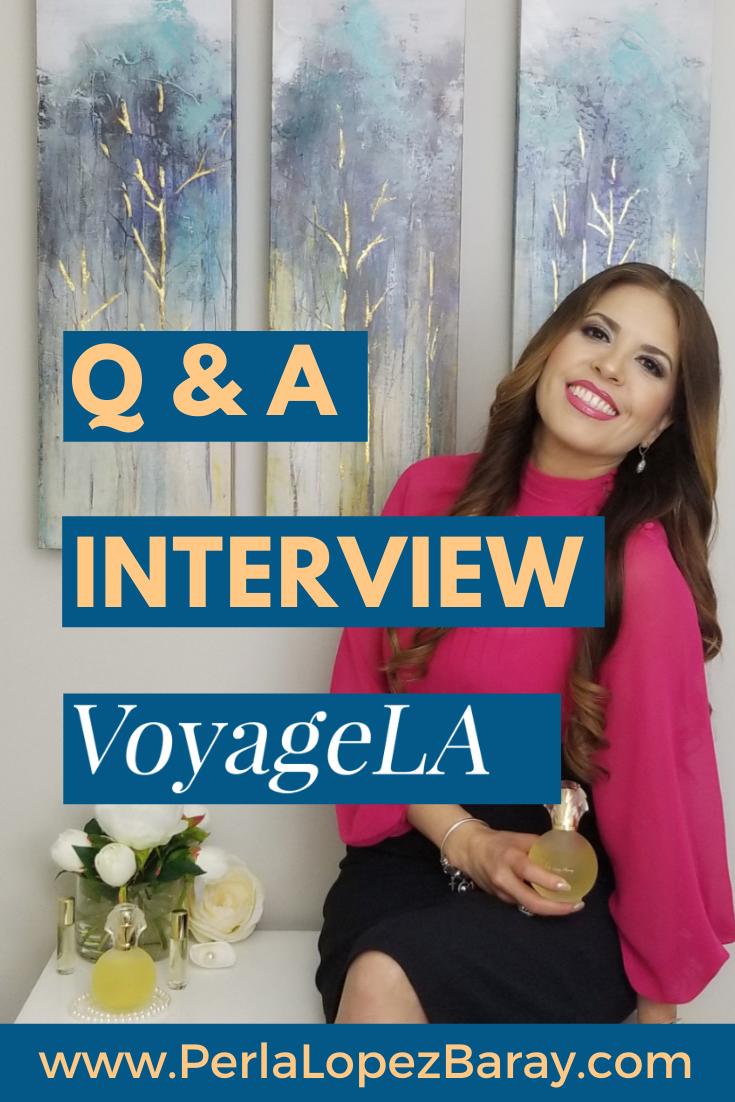 Perla Lopez Baray VoyageLA Interview