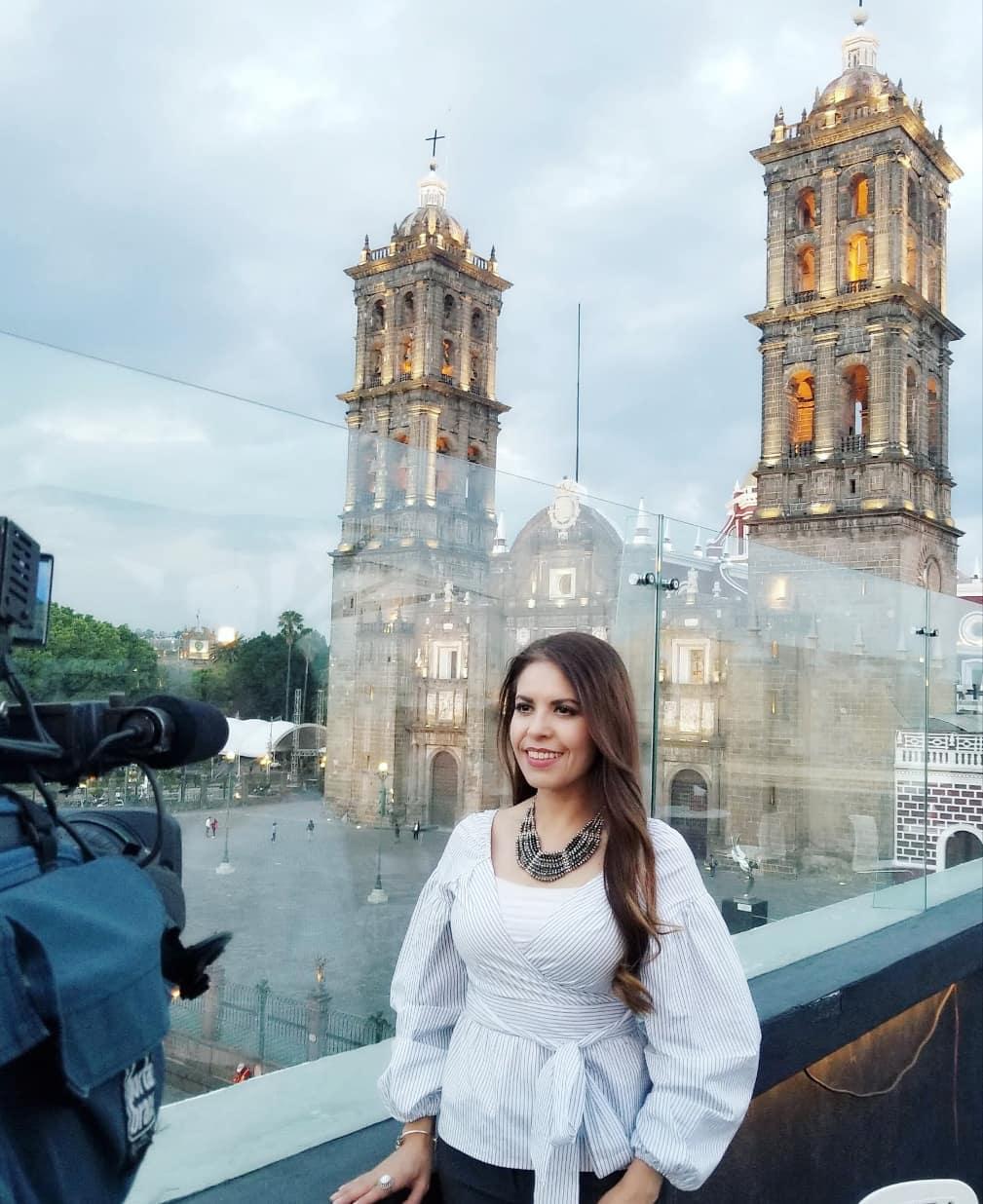 journalist perla lopez baray in puebla mexico